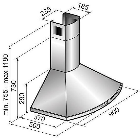kgu90051apm elleci cappa curve 900 - avena 51