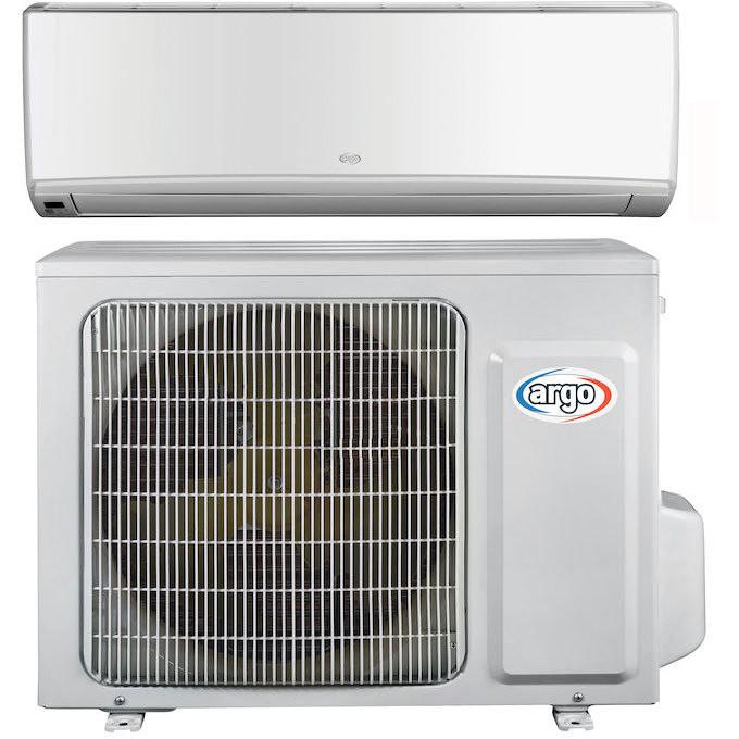 Kit Argo Wall 9000 climatizzatore 9000 btu inverter pompa di calore classe A++/A+