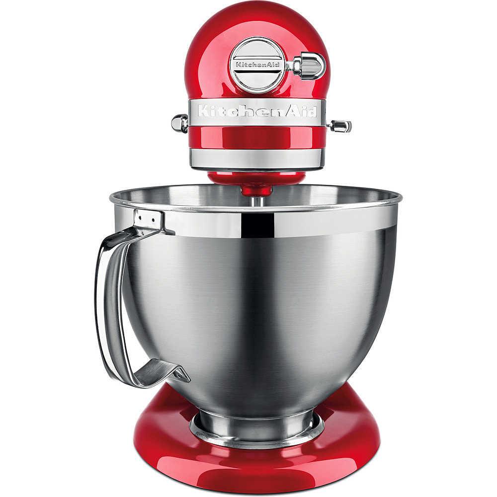 Kitchen Aid 5ksm185pseca Artisan Robot Da Cucina Con Corpo Motore Mobile 4 8 Litri Colore Rosso Mela Metallizzato Preparazione Cibi Robot Da Cucina Clickforshop