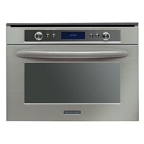 Kmpg 3610 kitchenaid forno microonde da incasso cottura a vapore inox forni da incasso - Forno a microonde cottura a vapore ...
