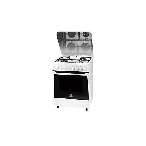 kn-6t62saw indesit cucina 60 cm 4 fuochi a gas forno elettrico ... - Cucina A Gas Indesit
