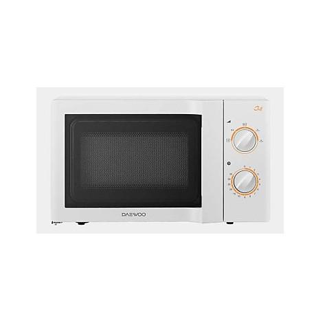 kog-6l67/3 daewoo forno a microonde 20lt 800w-1050wgrill-timer-bianco