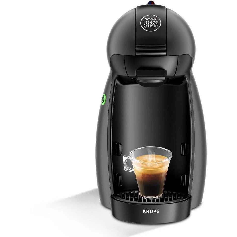 Krups KP100BKP Piccolo macchina del caffè in capsule Dolce Gusto + 32 capsule Nescafè Dolce Gusto