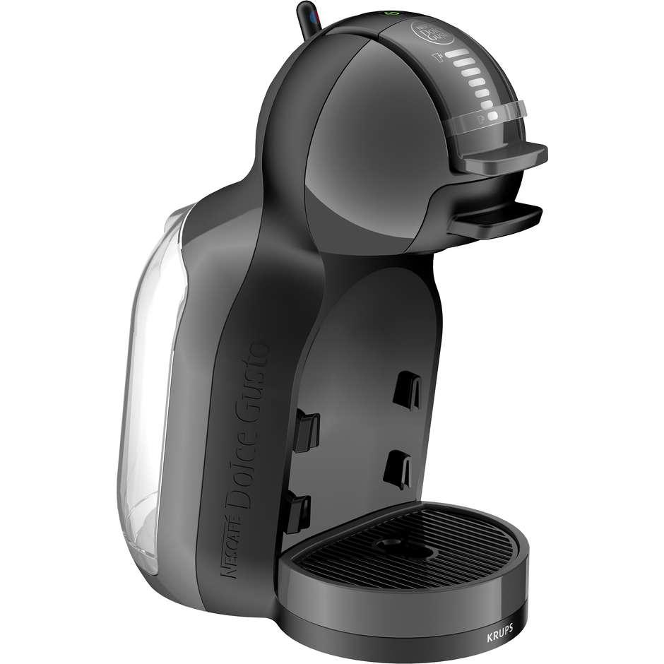 Krups KP1208K Mini Me macchina del caffè a capsule potenza 1500 Watt colore nero e grigio