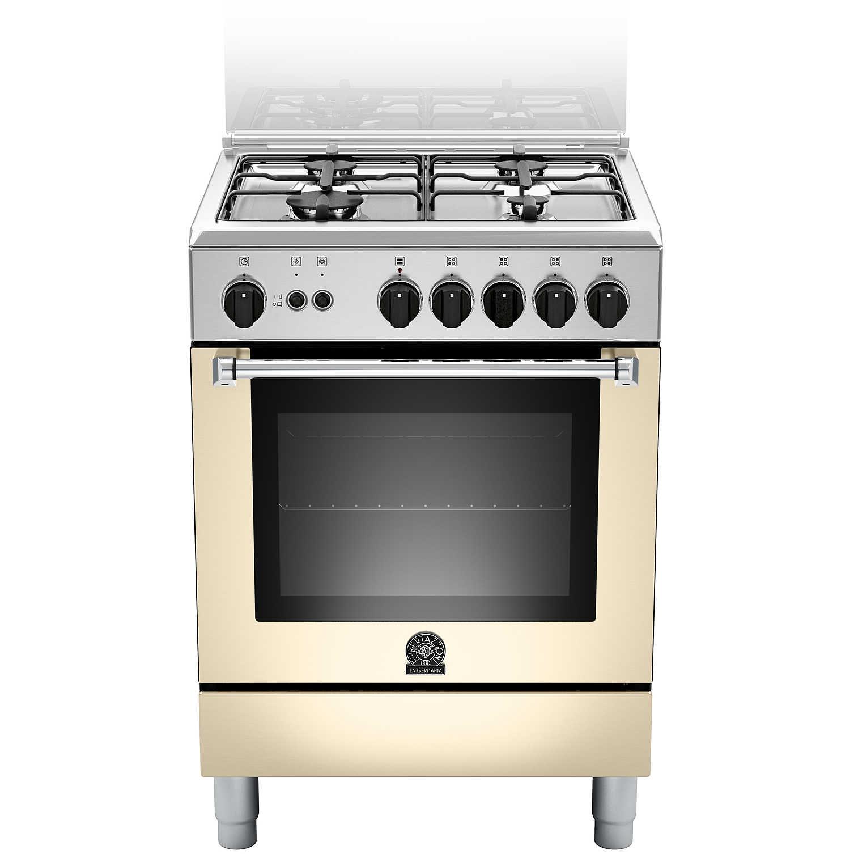 La germania amn604gevscre cucina 60x60 4 fuochi a gas forno gas ventilato con grill elettrico 56 - Cucina con forno a gas ventilato ...