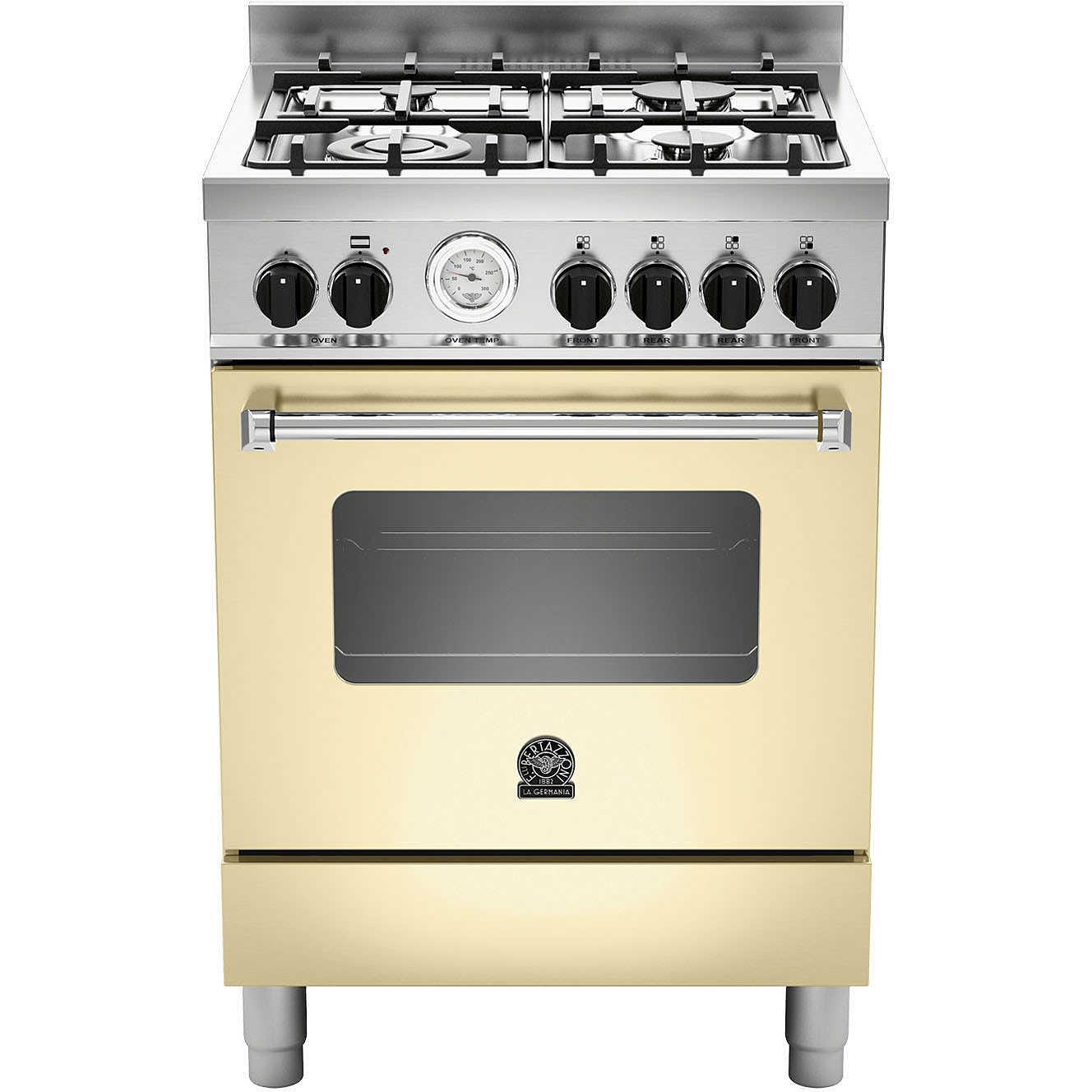 La germania amn604gevscrt cucina 60x60 4 fuochi a gas forno gas ventilato con grill elettrico 56 - Cucina con forno ventilato ...