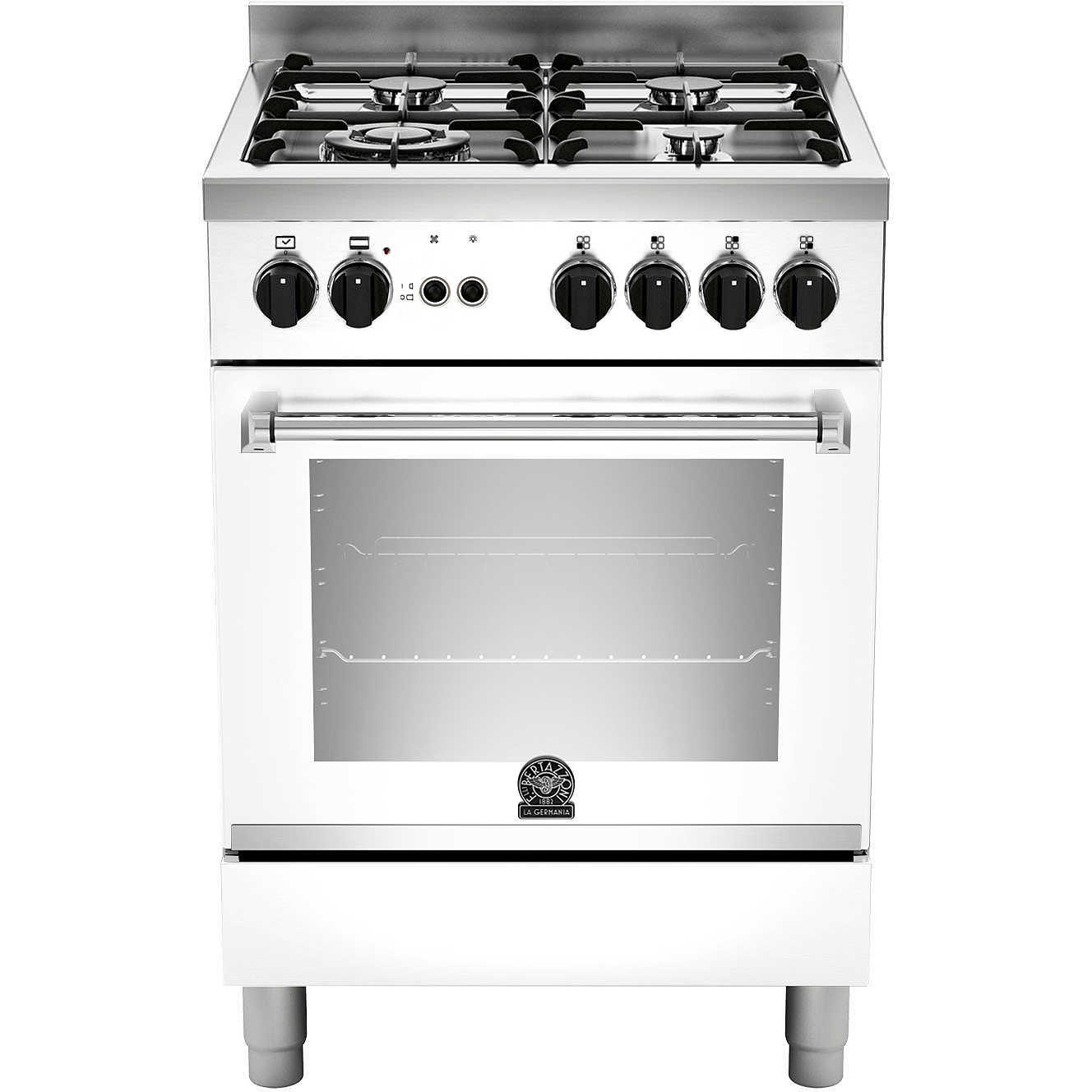 La germania amn604gevswc cucina 60x60 4 fuochi a gas forno gas ventilato con grill elettrico 56 - Cucina con forno a gas ventilato ...