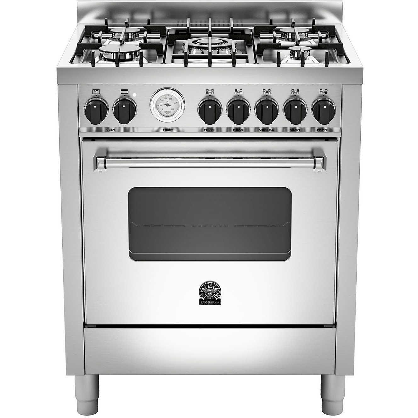 La germania amn705mfesxt cucina 70x60 5 fuochi a gas forno for Cucina 5 fuochi 70x60