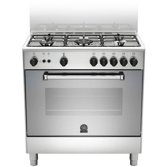 La germania amn805gevsxe cucina 80x50 5 fuochi a gas forno gas ventilato con grill elettrico 73 - Cucina con forno ventilato ...