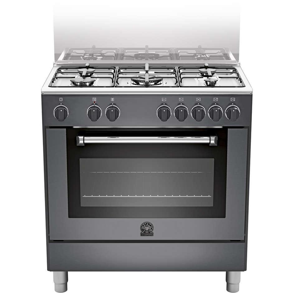 La Germania Amn805mfesnee Cucina 80x50 5 Fuochi A Gas