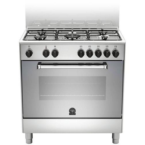 La germania amn805mfesxe cucina americana 80x50 5 fuochi forno elettrico classe a inox cucine - Cucina americana ...