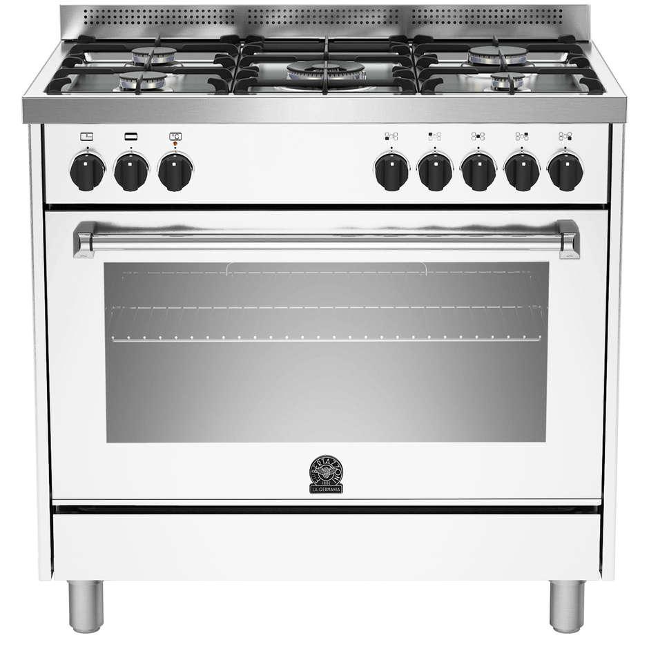 La germania amn905mfeswc cucina 90x60 5 fuochi a gas forno - Cucina 1000 euro ...