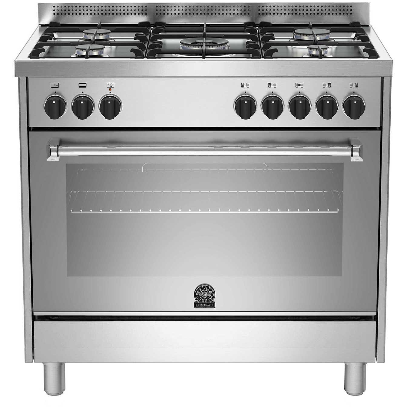 La germania amn905mfesxc cucina 90x60 5 fuochi a gas forno - La germania cucina ...