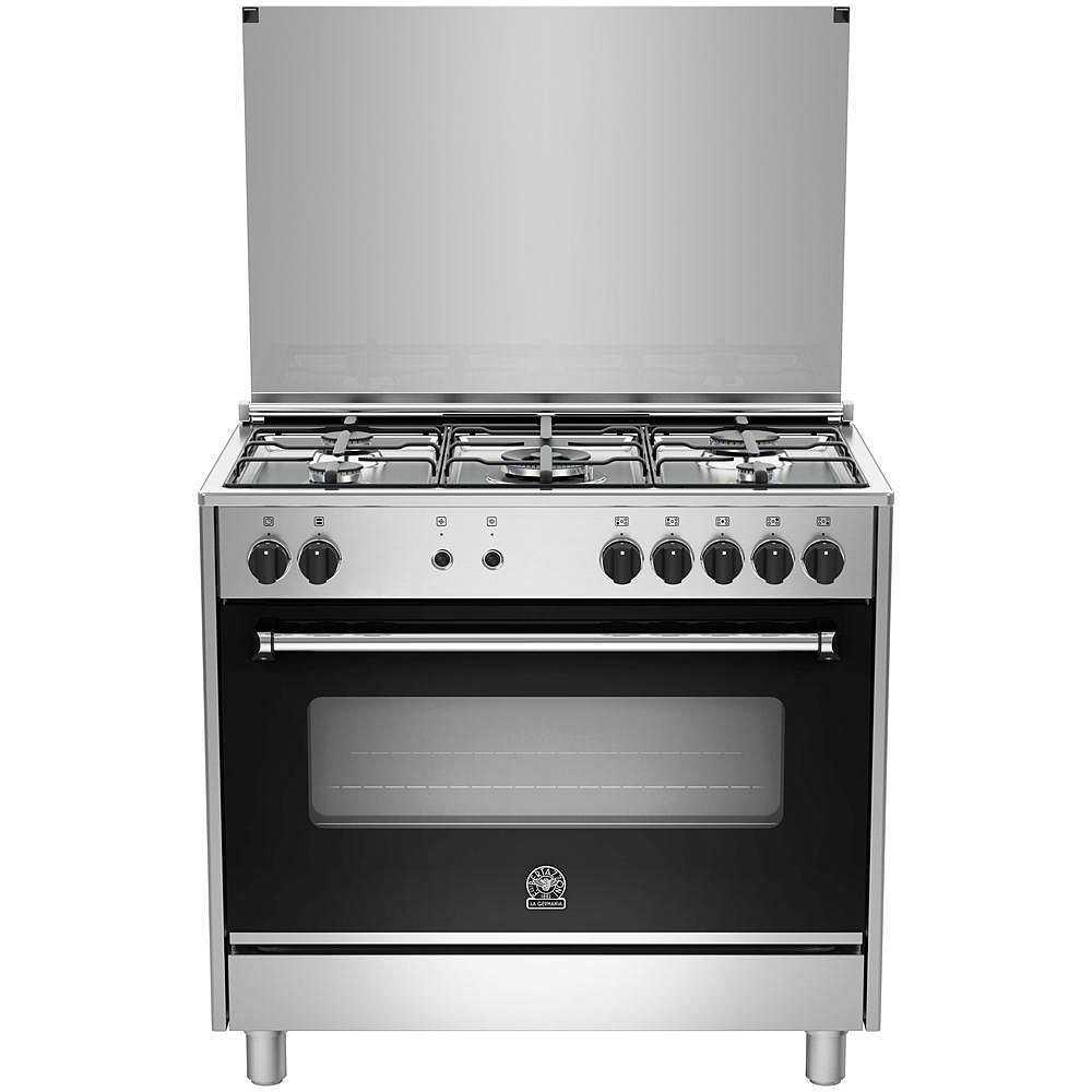 La germania ams95c61ldx cucina 90x60 5 fuochi a gas forno - La germania cucina ...