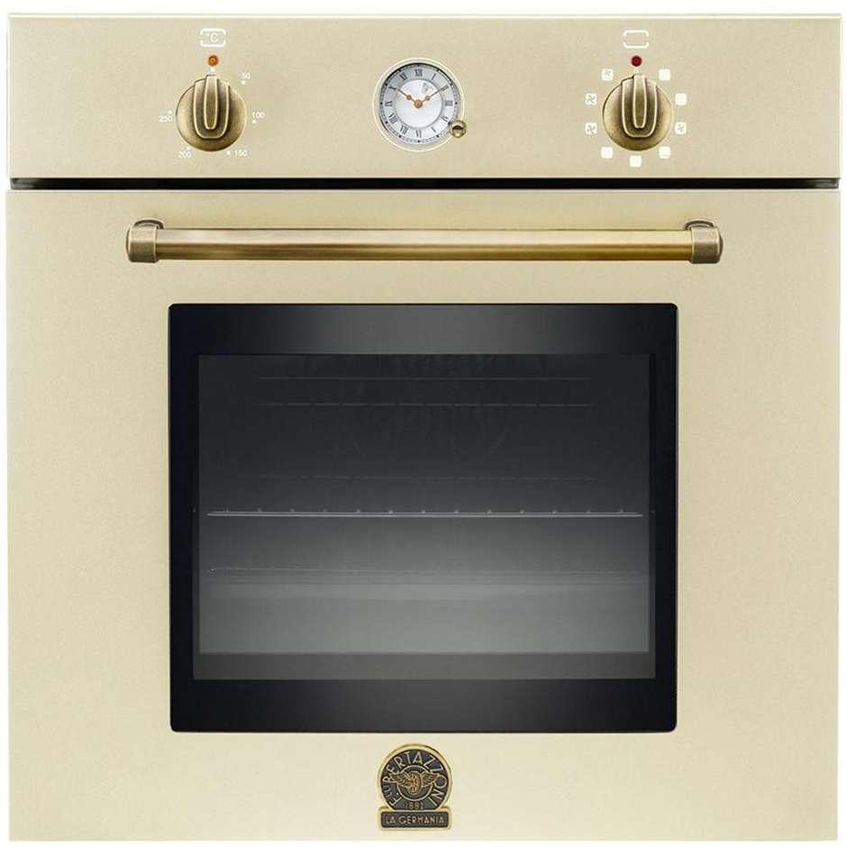 La germania f668cn9cr forno elettrico da incasso classe a 65 litri crema forni da incasso - Forno da incasso elettrico ...