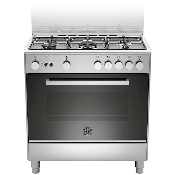 La Germania Ftr855gxv Cucina 80x50 5 Fuochi A Gas Forno A Gas Ventilato 75 L Classe A Colore Acciaio Inox Cucine Cucina 5 Fuochi Clickforshop