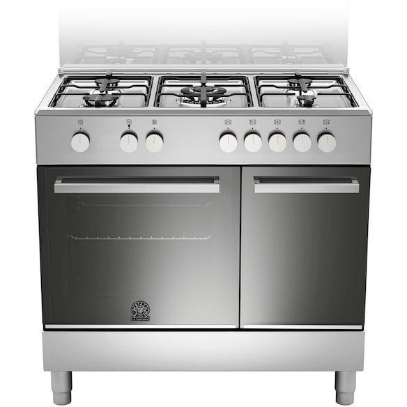 La germania ftr905mfepxe cucina 90x60 5 fuochi a gas forno elettrico multifunzione 56 litri - Cucina 5 fuochi ...
