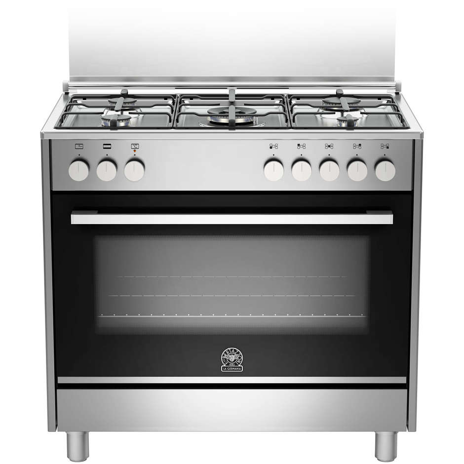 La germania ftr905mfesxe cucina 90x60 5 fuochi a gas forno - La germania cucina ...