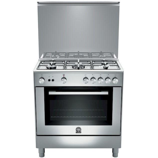 La germania tu85c71cx 13 cucina 80x50 5 fuochi a gas forno a gas ventilato con grill elettrico - Cucina con forno ventilato ...