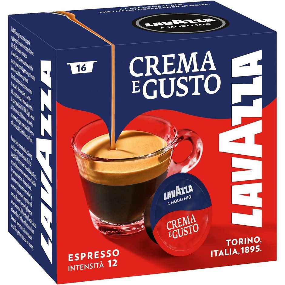 Lavazza A Modo Mio crema e gusto confezione da 16 capsule caffè cremoso
