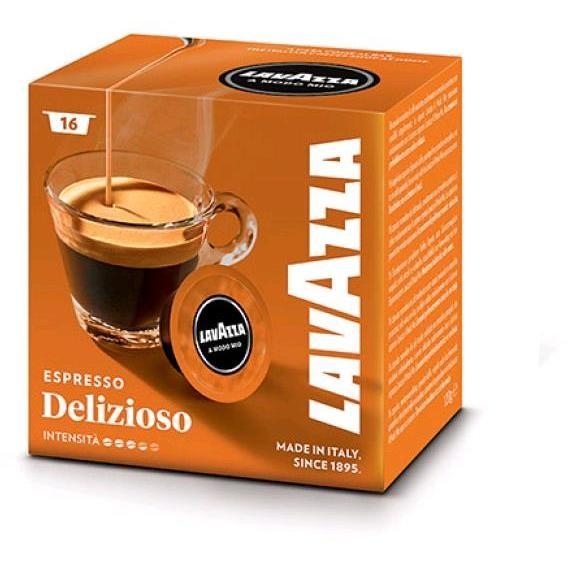Lavazza A Modo Mio Delizioso confezione da 16 capsule caffè espresso
