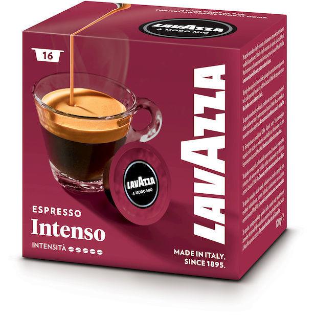Lavazza A Modo Mio intenso confezione da 16 capsule caffè espresso