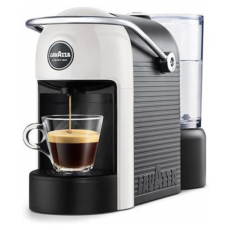 Lavazza JOLIE macchina da caffè capsule 1250 Watt colore bianco, nero + 64 capsule