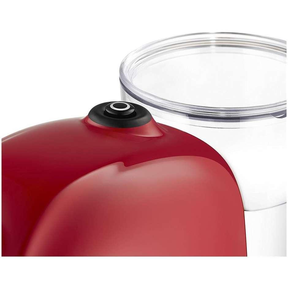 Lavazza Tiny macchina del caffè espresso automatica 1450 Watt serbatoio 0.75 L colore rosso + 64 capsule
