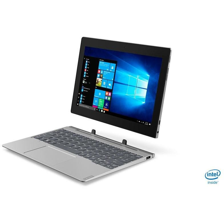 "Lenovo IdeaPad D330-10IGM Notebook 2in1 10.1"" Intel Pentium Silver N5000 Ram 4 GB eMMC 128 GB Windows 10 Pro"