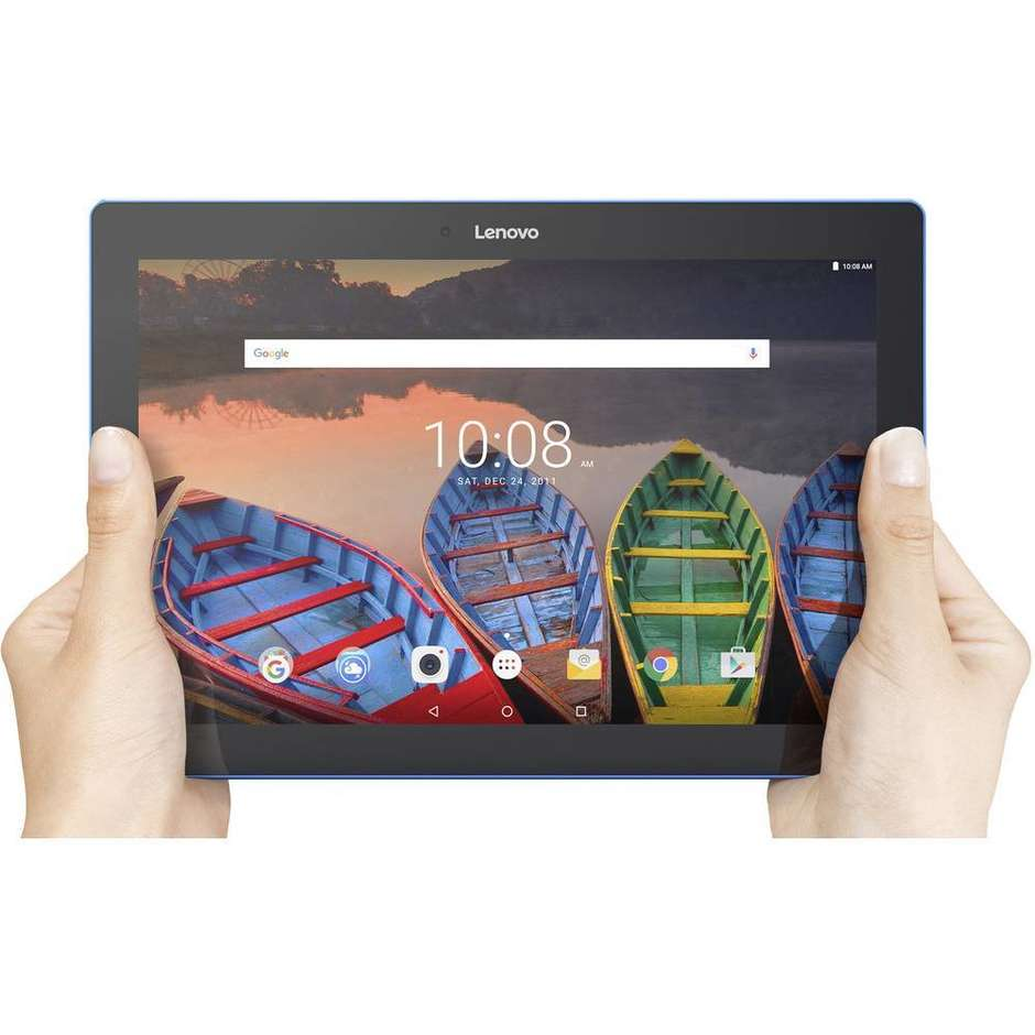 "Lenovo TB-X103F Tablet Android 10.1"" Processore Snapdragon 210 APQ8009 Ram 1 GB Colore Nero ZA1U0082DE"