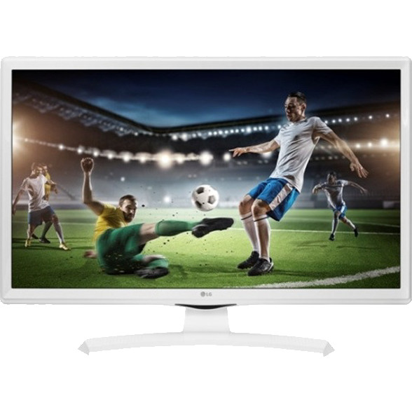 "LG 24TK410VW Tv Led 24"" HD USB 2.0 HDMI DVB-T2 Hotel Mode classe A Bianco"
