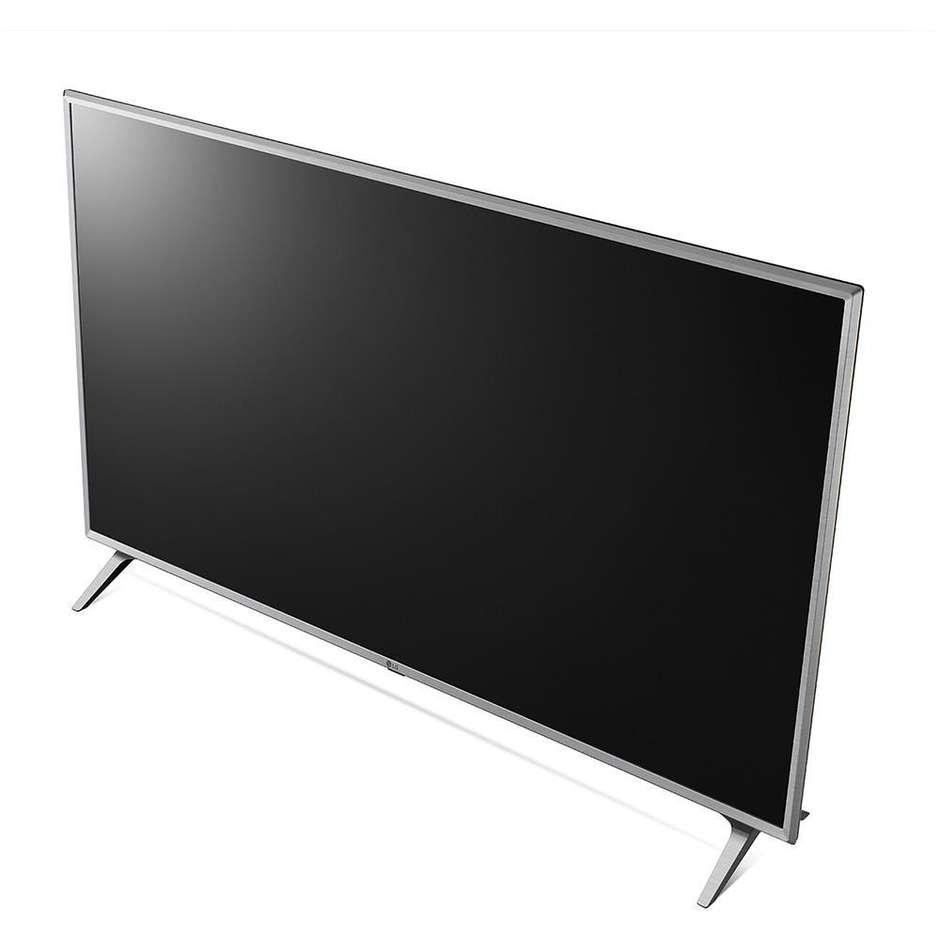 "LG 43UK6500 Tv Led 43"" 4K Ultra HD Smart TV Wifi Classe A colore Argento"