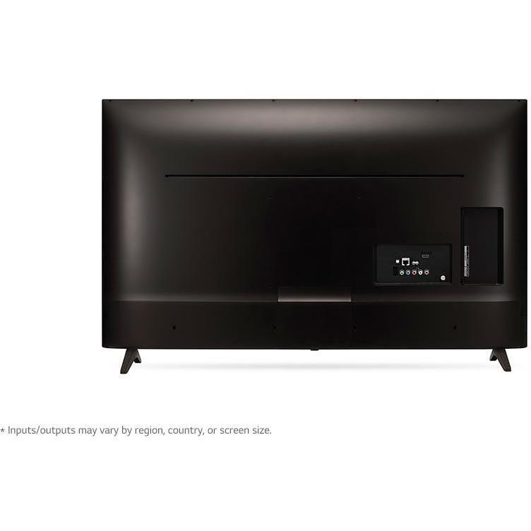 lg 49uj630v tv led 49 4k ultra hd hdr smart tv wi fi ultra surround classe a colore nero. Black Bedroom Furniture Sets. Home Design Ideas