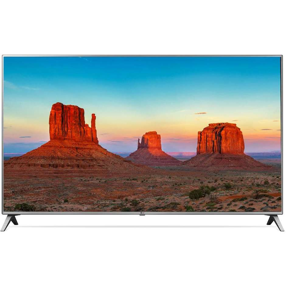 "LG 55UK6500 Tv LED 55"" 4K Ultra HD Smart Tv Classe A+ Bluetooth colore Grigio"
