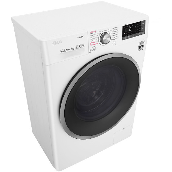 Lg f2j7hy1w lavatrice snella 45 cm 7 kg 1200 giri classe a for Lavasciuga 45 cm