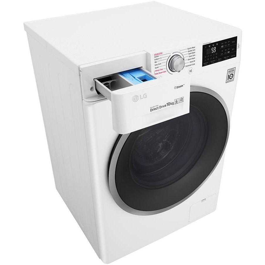 LG F4J6J10KG Lavatrice 10 KG Classe A+++-40% Centrifuga 1400 giri Colore Bianco