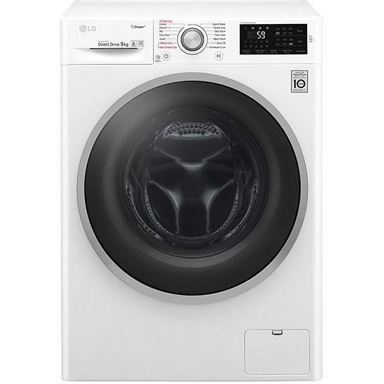 LG F4J6VY1W lavatrice carica frontale 9 Kg 1400 giri classe A+++ Wi-fi colore bianco