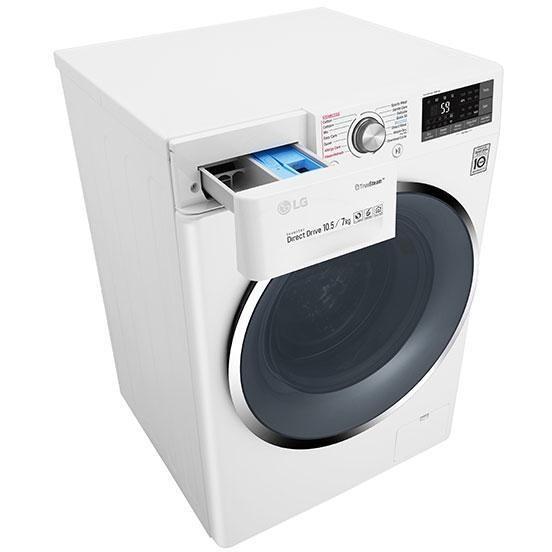 LG F4J8JH2W lavasciuga carica frontale 10+7 Kg 1400 giri classe A funzione vapore Wifi