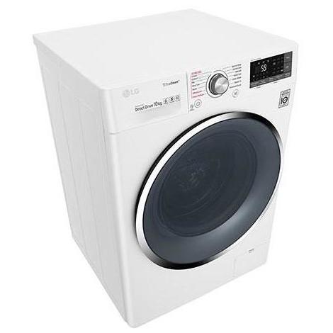 LG F4J8JS2W lavatrice carica frontale 10 Kg 1400 giri classe A+++ colore bianco
