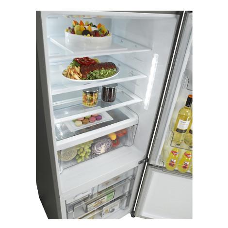 LG GBB548NSQZB frigorifero combinato 445 litri classe A++ Total No Frost inox