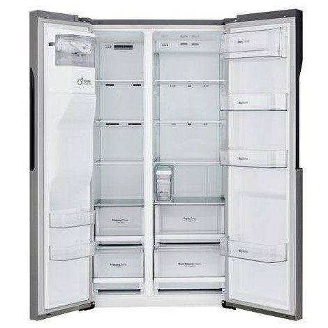 Lg GSL361ICEZ frigorifero side by side 591 litri classe A++ Total No Frost colore inox