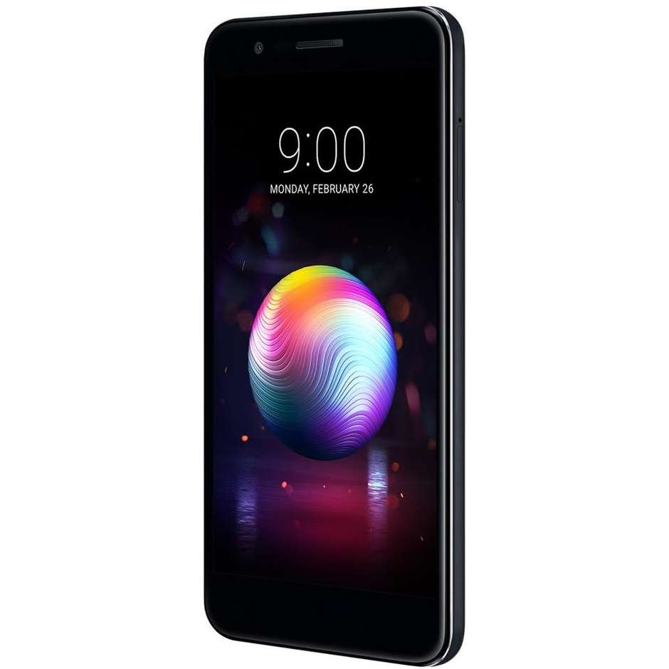 "LG K11 Smartphone Dual Sim 5,3"" memoria 16 GB Fotocamera 13MP Android 7.1.2 Nougat Colore Nero"