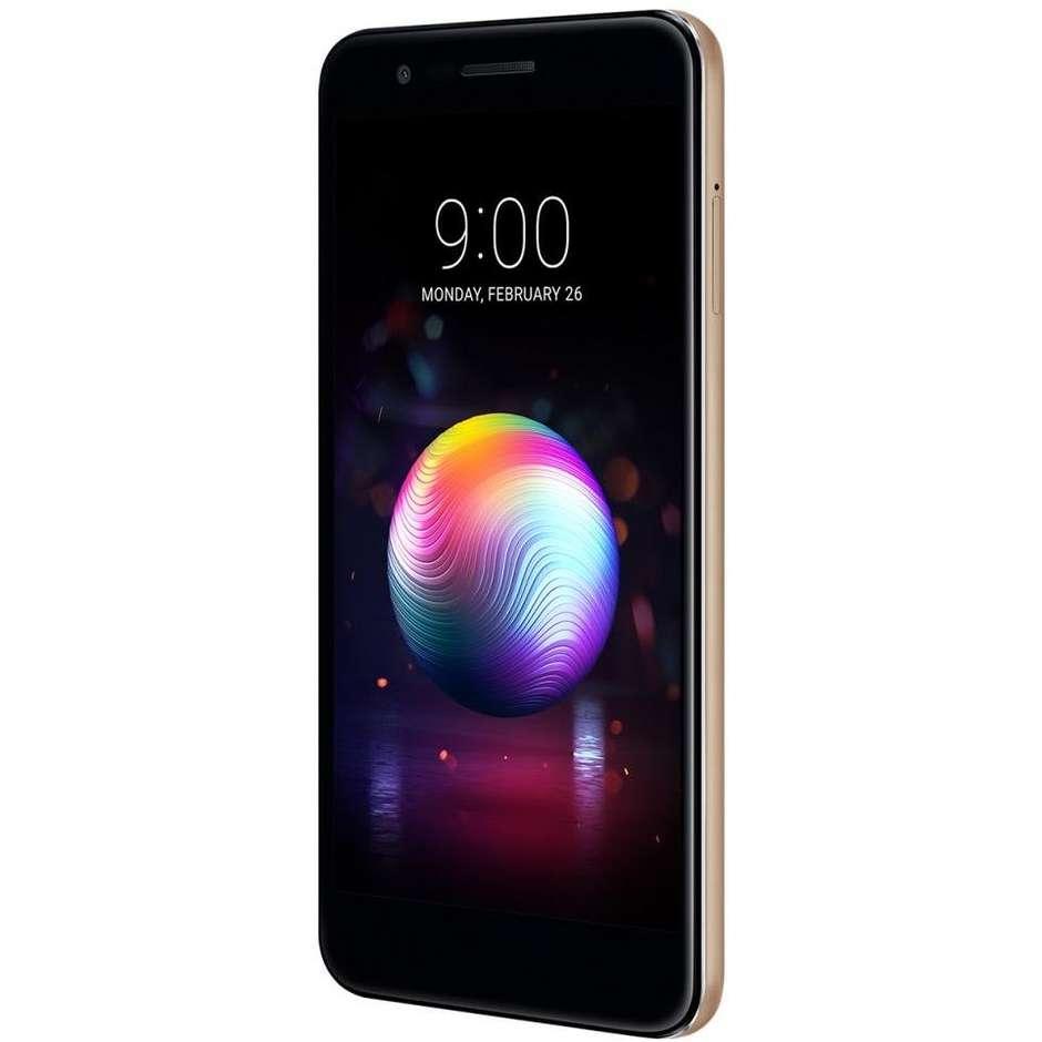 """LG K11 Smartphone Dual Sim 5,3"""" memoria 16 GB Fotocamera 13MP Android 7.1.2 Nougat Colore Oro"""