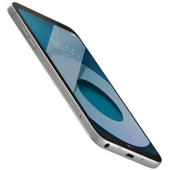 LG Q6 LGM700A.AITCPL Smartphone Dual Sim Display 5.5 pollici Ram 3 Gb 32 Gb espandibile colore Platino