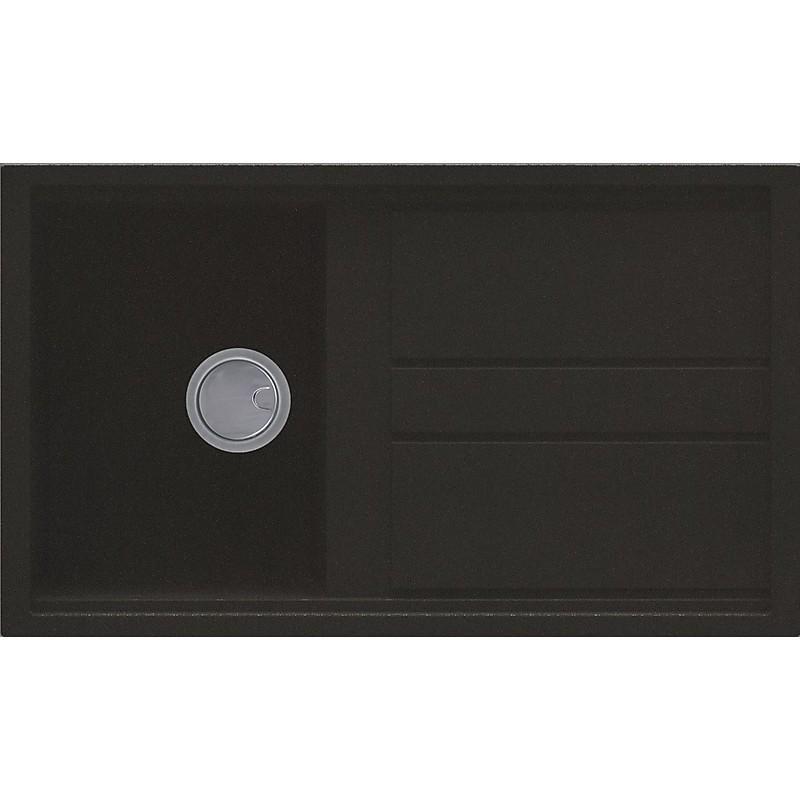 lgb40059 elleci lavello best 400 86x51 1 vasca antracite 59