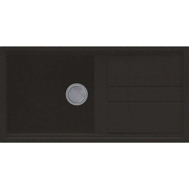 lgb48059 elleci lavello best 480 100x51 1 vasca antracite 59