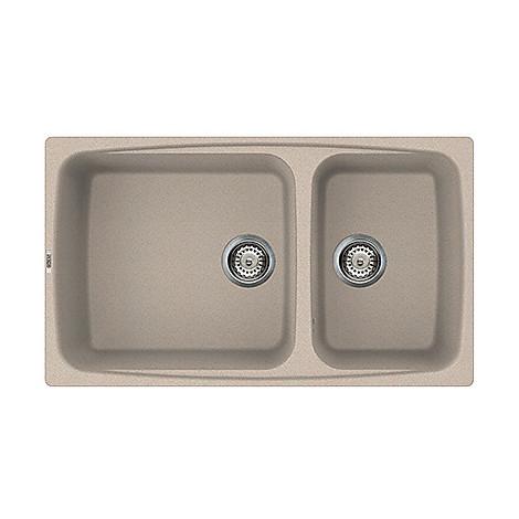 lgf45051 elleci lavello fox 450 86x50 2 vasche avena 51