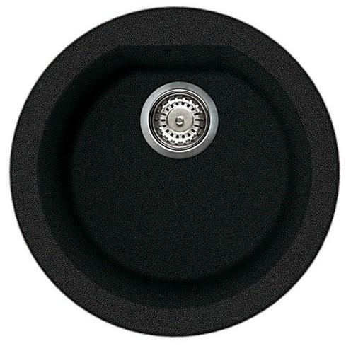 lgfrou59 elleci lavello round 44 1 vasca antracite 59
