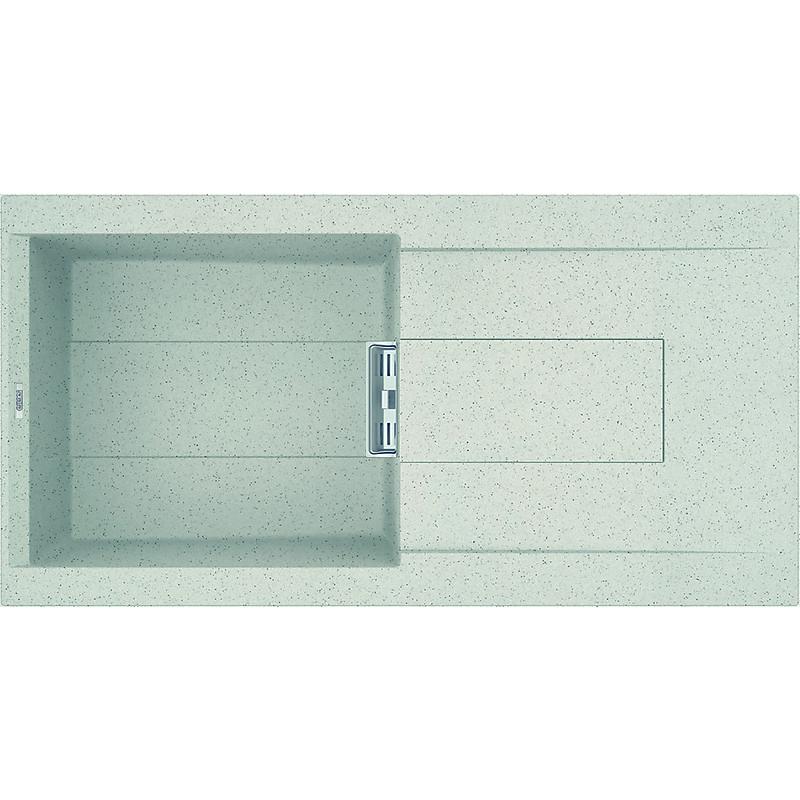 lgi48052smt elleci lavello smart 480 100x51,6 1 vasca bianco 52 meccanico