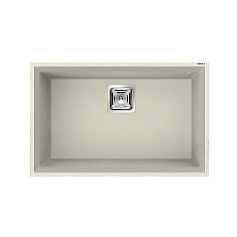lgk12062bsc elleci lavello karisma 120 70x50 1 vasca bianco antico 62 sottotop con troppo pieno